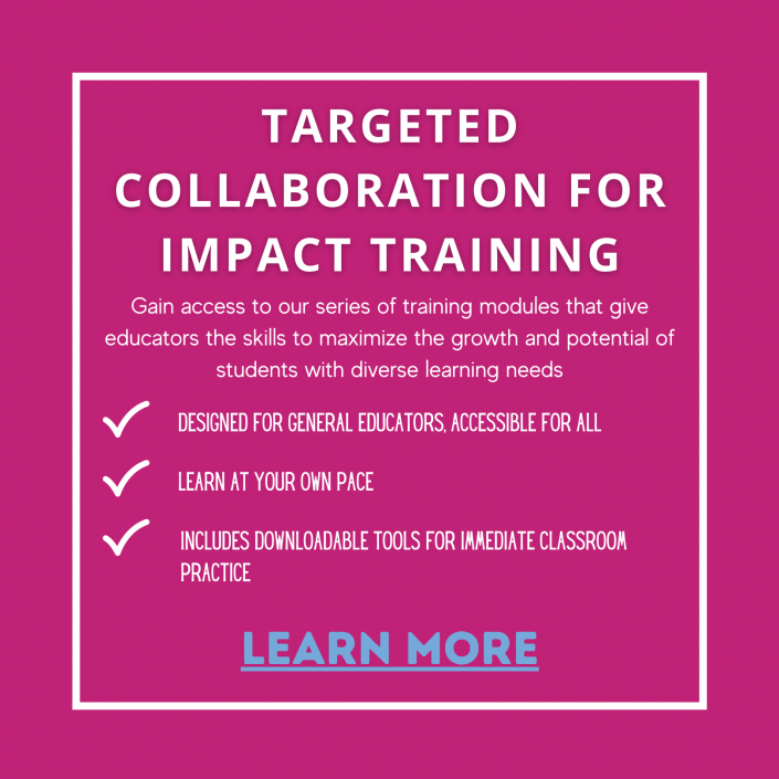 Targeted Collaboration For Impact Training